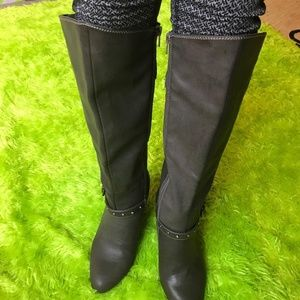 Rialto Womens High Heeled Boots Sz 9